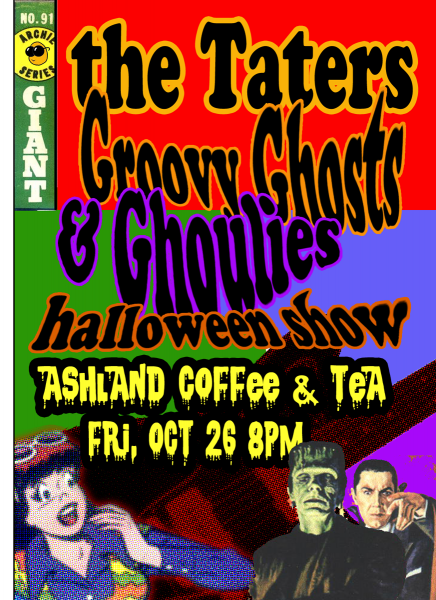 Groovy Ghosts & Ghoulies Halloween, 2012